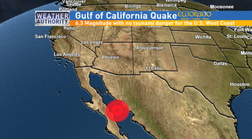 CNN: ძლიერი მიწისძვრა მექსიკაში