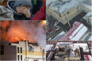 კემეროვოს სავაჭრო ცენტრში გაჩენილი ხანძრის შედეგად 64 ადამიანი დაიღუპა
