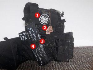 ხალ ზელანდიაში თავდასხმისას გამოყენებულ იარაღზე ქართული სახელები და გვარებია დაწერილი