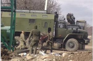 ხურვალეთში რუსეთის ჯარები განლაგდნენ